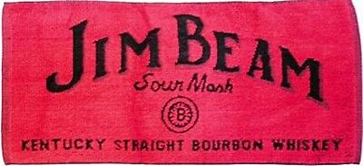 "Jim Beam Cotton Bar Towel   20"" x 10"" (pp)"