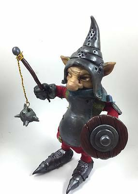 Blud - The Battle Goblin - Labyrinth Froud Inspired Poseable Artdoll