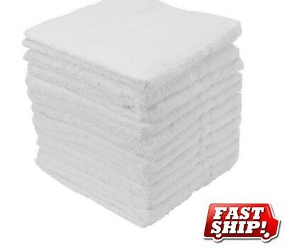 36 cotton terry cloth cleaning bar towels shop rags 12x12 100% cotton