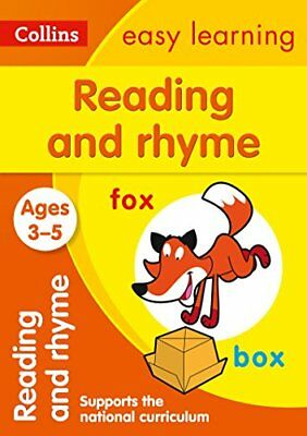 Collins Easy Learning Preschool: Collins Easy Learning Preschool - Reading and R