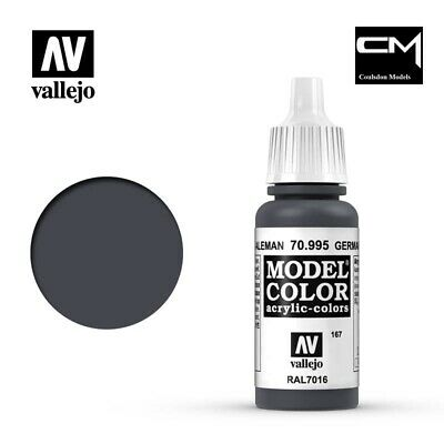 Vallejo Model Color German Grey 70.995 (167) - 17ml Acrylic Paint