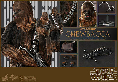 Chewbacca Sixth Scale Figure - Star Wars Episode IV -  1/ 6 Sideshow / Hot Toys