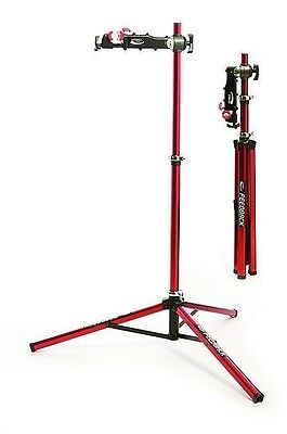 Feedback Sports Pro Elite Repair Stand-Red-Bicycle Maintenance Stand-New