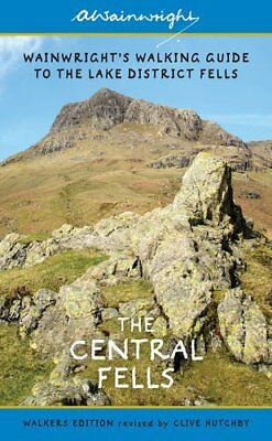 Wainwright's Illustrated Walking Guide to the Lake District Book 3: Central Fell