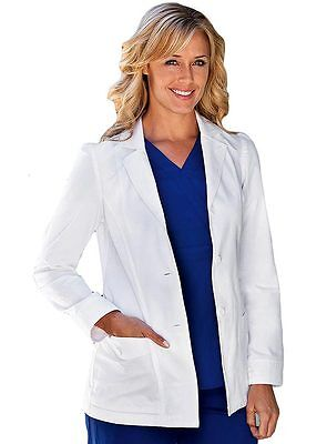 Grey's Anatomy Women's  4438 Junior Fit 28 Inch Two Pocket Lab Coat