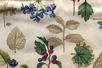 Longaberger ~ NAPKIN Basket LINER ~ BOTANICAL FIELDS Fabric ~ New & MINT in PKG.