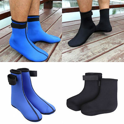3mm Neoprene Diving Scuba Surfing Swimming Socks Water Sports Snorkeling Boots