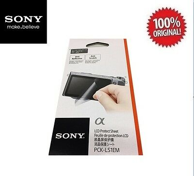 NEW SONY PCK-LS1EM SCREEN PROTECTOR for Cameras: NEX 7, 6, 5T, 3N, ILCE-3000