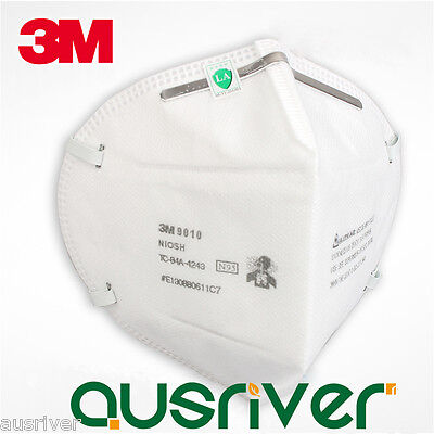10pcs 3M 9010 N95 Particulate Respirator Dust Virus Protective Mask Filter PM2.5