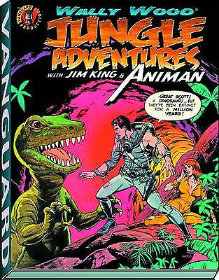 Wally Wood - Jungle Adventures With Jim King & Animan Deluxe Hardcover Slipcase