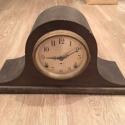 Antique Vintage Seth Thomas Chiming Mantle Shelf Clock! Old Striker