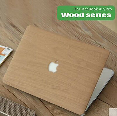 Wood print Hard shell case keyboard cover for Macbook Pro Air Retina 11 12 13 15