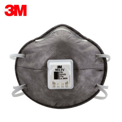 10pcs 3M 9913V Particulate Respirator Protective Mask Organic Vapour with Valve