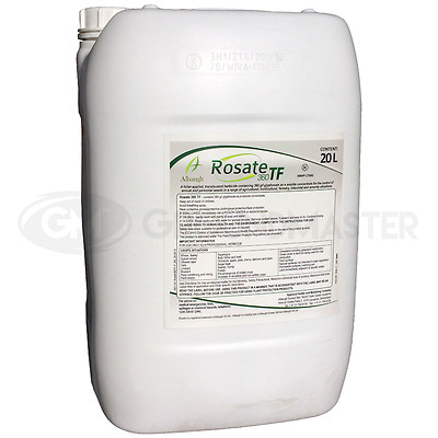 1 x 20L Rosate 36 Very Strong Professional Glyphosate Weedkiller