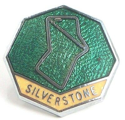 SILVERSTONE BADGE 18mm