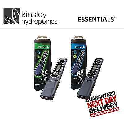 Essentials PH And EC Meter Pens Nutrient Testers Hydroponics