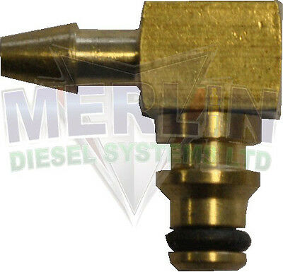FORD FOCUS 2005- 1.8TDCi SIEMENS LEAK OFF PIPE CONNECTOR. 90 DEGREES (M003-508)