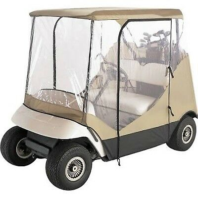 Classic Accessories 72052 Travel 4-Sided Golf Car Enclosure (Tan)
