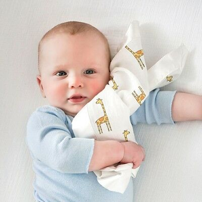 SALE Aden and Anais Cotton Muslin Comforter Baby/Toddler Security Blanket x 2