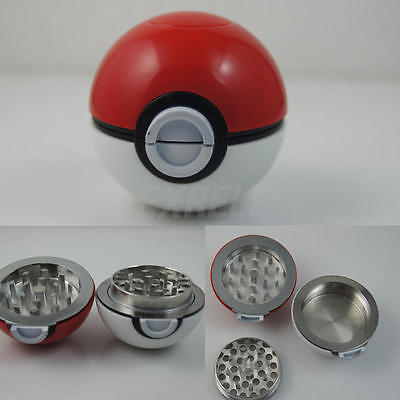 55mm 3 Layers Zinc Alloy Tobacco Crusher Hand Muller Smoke Herbal Herb Grinder