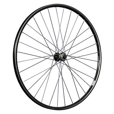 Taylor Wheels 28 Zoll Vorderrad Ryde Rival19 Shimano HB-RM33 Nabe schwarz Disc
