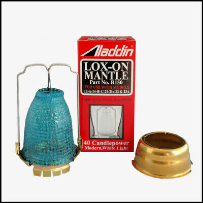 ALADDIN LAMP MANTLE ADAPTER KIT INCLUDES N146A and R150 sold as one lot