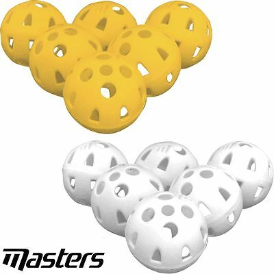 Masters Golf Airflow XP Practice Balls Pack Of 6