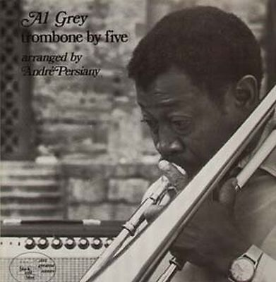 Grey Al, Trombone By Five w. Persiany, orig. France Black and Blue 33 174 LP
