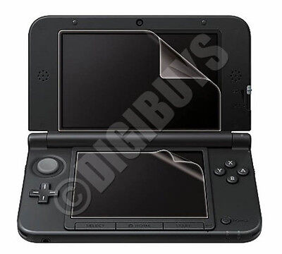 4 X Clear Transparent Screen Protector Guard Film Kit for Nintendo 3DS XL LL UK
