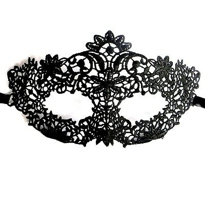 Tiny Flowers Mask Black Lace Party Ball Masquerade Dress Mardi Gras 50 SHADES