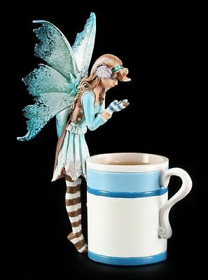 Elfen Figur in Tasse - Hot Cocoa Faery - Amy Brown Fee Cup Fairy