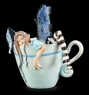 Elfen Figur Tasse - I Need Coffee Faery - Amy Brown Cup Fairy
