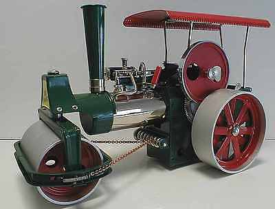 UK-SPECIAL Wilesco D365 TOY STEAM ROLLER + ENGINE - NEW and FREE SHIPPING