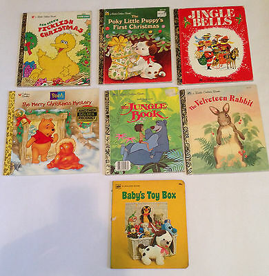 Classic Little Golden Book collection - Seven hardback books