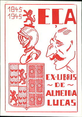 'Almeida Lucas' 1945  Bookplate    (JC.110)