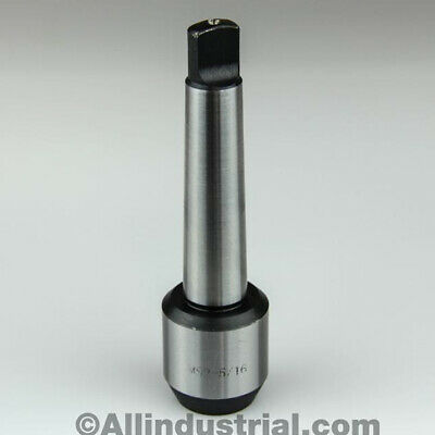 """5/16"""" Mt2 Morse Taper End Mill Tang Tool Holder Adapter End 2Mt"""