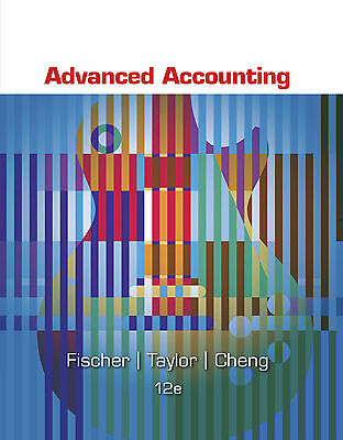 Advanced Accounting 12th USA Ed Fischer Taylor Cheng 2015