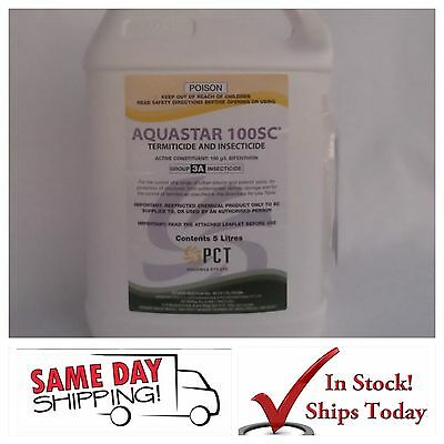5L AQUASTAR termiticide insecticide cockroaches roach spider ants termite bug