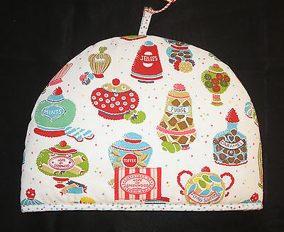 Candy Shop Tea Cosy Cozy Ulster Weavers Fudge Caramel Toffee Hope and Greenwood