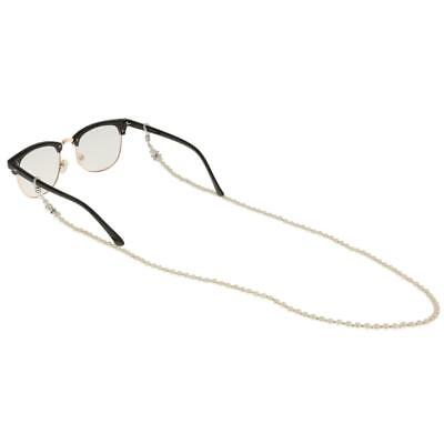 Imitation Pearls Bead Chain Strap Cord Lanyard for Spectacles Eye Glasses