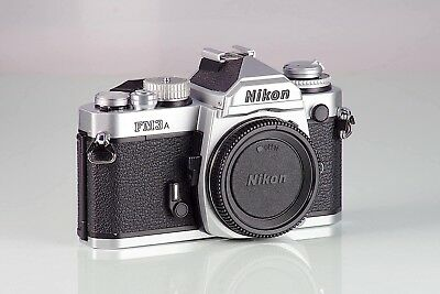 Nikon FM3 A FM3A Silver MINT AS NEW GARANTIA COLECCION FREE EXPRESS DELIVERY