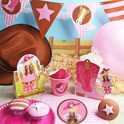 Cowgirl & Pony Party Theme