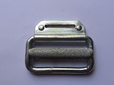 Galvanised Steel Heavy Duty  Strap Lock  - For 50Mm Wide Strap - Webbing