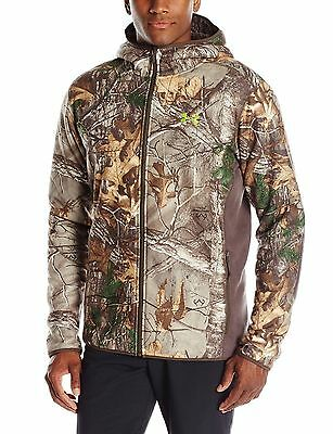 Under Armour Men's Stealth Hooded Jacket - Realtree & Mossy 1283119 $159.99