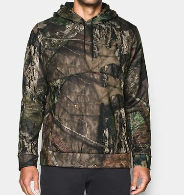 Under Armour Unisex Men's Icon Camo Hoodie - 1285582-279 Mossy Oak Country