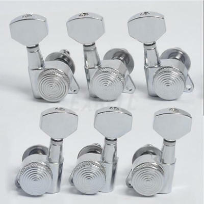 Guitar String Tuning Pegs Locking Tuners Keys Machine Heads 3X3 Chrome