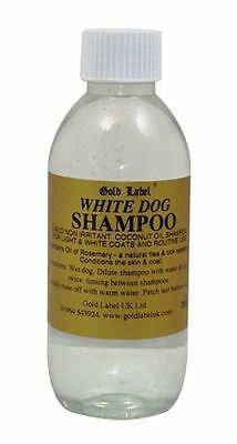 Gold Label - White Dog Shampoo x 250 Ml