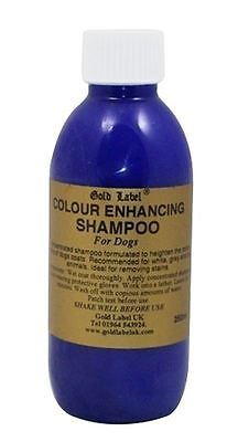 Gold Label - Colour Enhancing Dog Shampoo x 250 Ml
