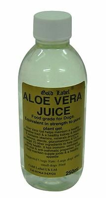 Gold Label - Dog Aloe Vera Juice x 250 Ml