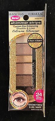 Physicians Formula Extreme Shimmer ~ Shimmery Gold Nude 6632 ~ READ DESCRIPTION